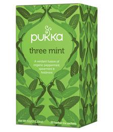 Three Mint Organic Tea - 40g 20 Sachets
