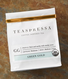 Green Gold Loose Leaf Tea Pouch