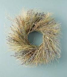 Preserved Lavender Tumbleweed Wreath