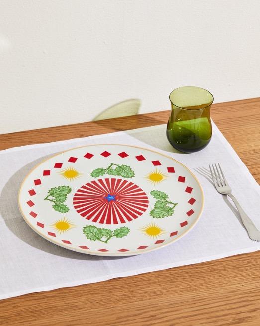 Round Leaf Platter