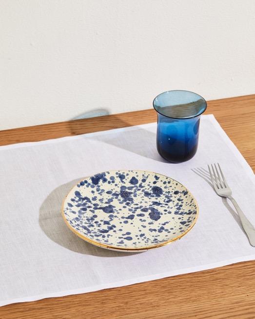 Fasano Plate in Blue
