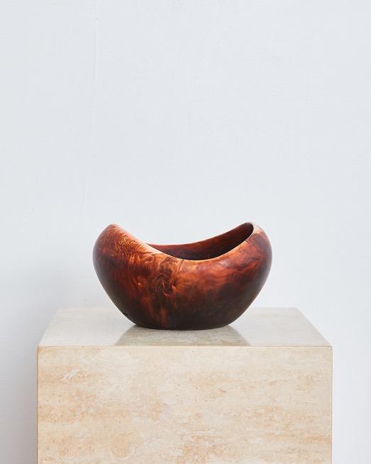 Medium Beetle Bowl in Dark Horn