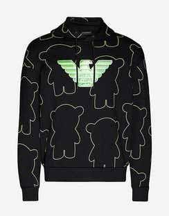 Jupiter Graphic-print Cotton-jersey Hoodie