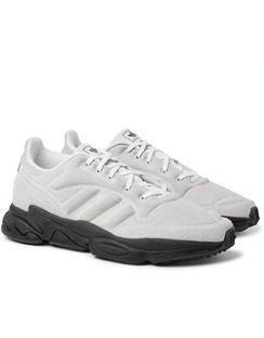 Consortium + Craig Green Kontuur Kamanda I Rubber-Trimmed Mesh Sneakers
