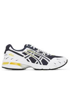 Navy & Silver GEL-1090 Sneakers