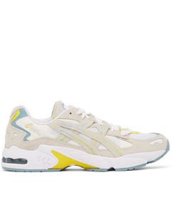 White & Grey Gel-Kayano 5 OG Sneakers
