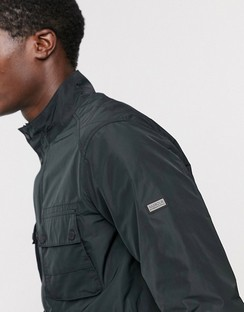 Stannington Two Pocket Field Jacket in Black