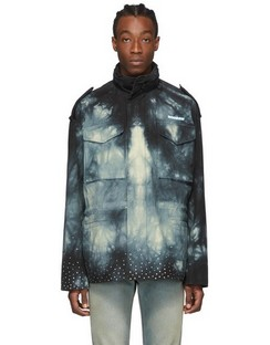 Black Tie-Dye New Field Jacket
