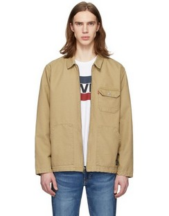 Beige Waller Worker Jacket