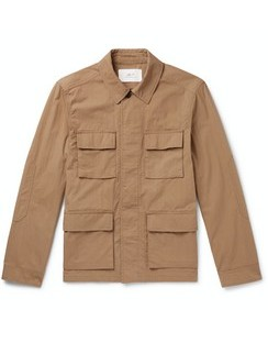 Cotton and Nylon-Blend Field Jacket