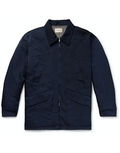 Oversized Nylon-Twill Field Jacket