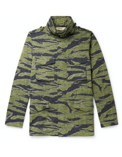 Icon 2 Camouflage-Print Cotton-Blend Twill Field Jacket