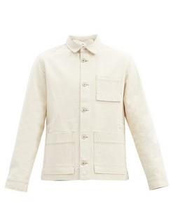 Plinth Cotton-canvas Jacket