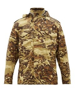 M65 Camo-print Cotton-twill Jacket