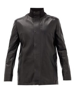 Warren Leather Field Jacket