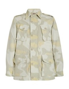 Vancouver Printed Cotton-Gabardine Jacket