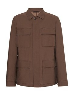 Cotton-Blend Twill Jacket