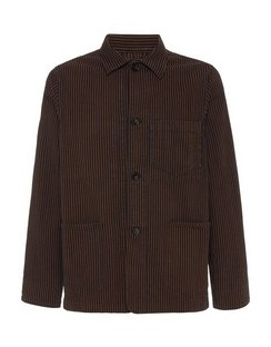 Chore Striped Cotton Jacket