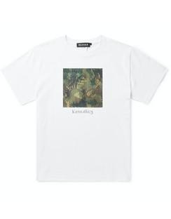 + Kosuke Kawamura Printed Cotton-Jersey T-Shirt