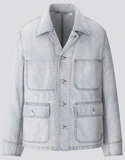 U denim work jacket