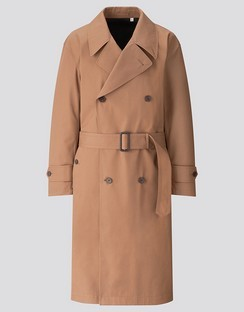U BLOCKTECH trench coat