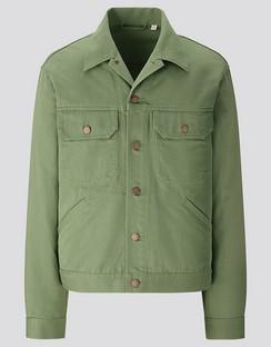 U trucker jacket
