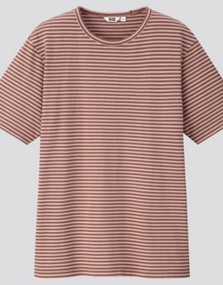 U striped S/S T-shirt