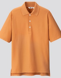 U SUPIMA Cotton S/S polo shirt