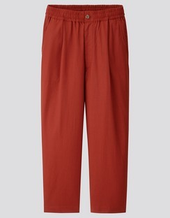 U relaxed wide fit pants