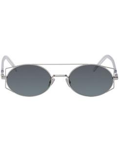 Silver DiorArchitectural Sunglasses