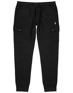 Black Jersey Sweatpants