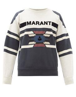 Pallian Logo-print Cotton-blend Jersey Sweatshirt