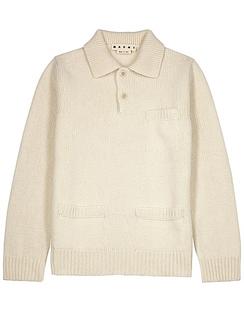 Cream Wool Jumper
