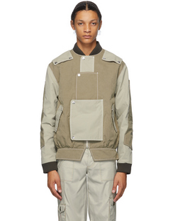 SSENSE Exclusive Beige & Khaki Proposal A Jacket