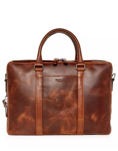 Navigator Leather Computer Briefcase