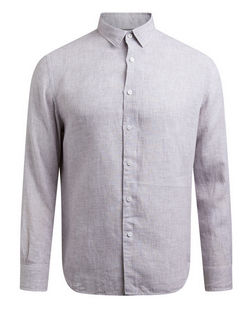 Anderson Classic Yarn Dyed Linen Shirt