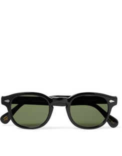 Lemtosh Round-Frame Acetate Sunglasses