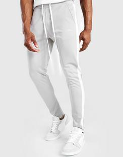 Tricot Skinny Tonal Panel Joggers with Zips