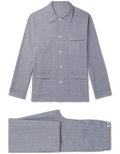 Prince of Wales Checked Cotton Pyjama Set