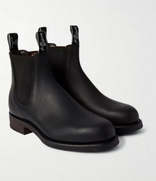 Gardener Whole-Cut Leather Chelsea Boots