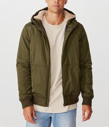 Ma1 Hooded Bomber Jacket