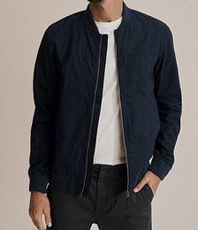 Washed Bomber Jacket