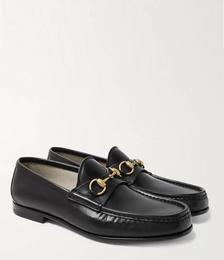 Roos Horsebit Leather Loafers