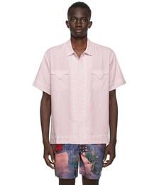 Pink West Coast Short Sleeve Shirt
