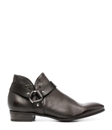 Harness Detail Ankle Boots