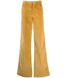 Flared Leg Corduroy Trousers