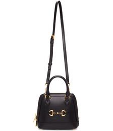 Black Small GG 'Gucci 1955' Horsebit Bag
