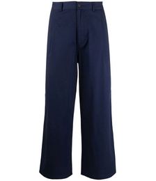 Flared Mid-rise Trousers