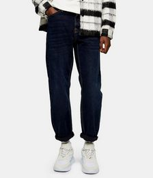 Relaxed Jeans in Navy