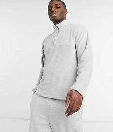 Half Zip Fleece in Grey